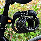 Best unknown Bike Cables - Cycling Security 5 Digit Combination Password Bike Bicycle Review