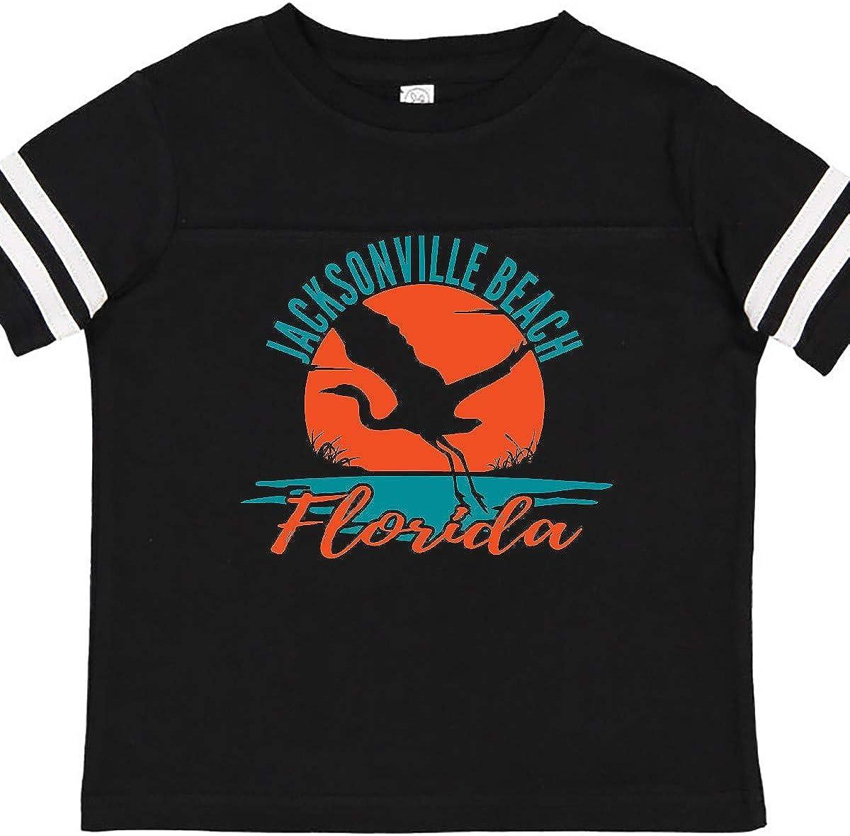 inktastic Jacksonville Beach Florida Vacation Trip Toddler T-Shirt