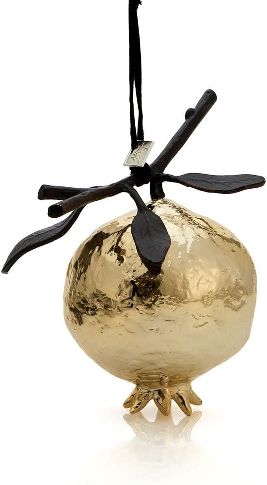 Michael Aram Pomegranate Decorative Ornament Gold