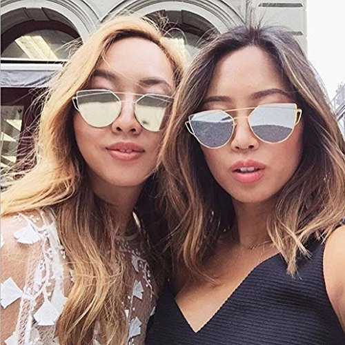 de Rosa Sol Gafas Gafas Mujer 2017 Mujeres Oro Xinantime Moda Cuadradas Z1vwqv