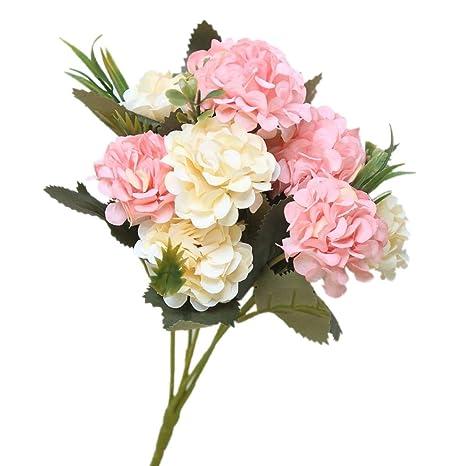 Kirinhomelife Fleur Artificiel Fleurs Artificielles Decoration