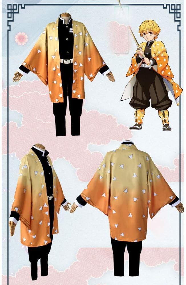 Kamado Nezuko HHNN Demon Slayer Kimetsu No Yaibar Mia Moglie Shan Yi//Agatsuma Zenitsu Costume Cosplay Ghost Blade Halloween Natale Cosplay Costume