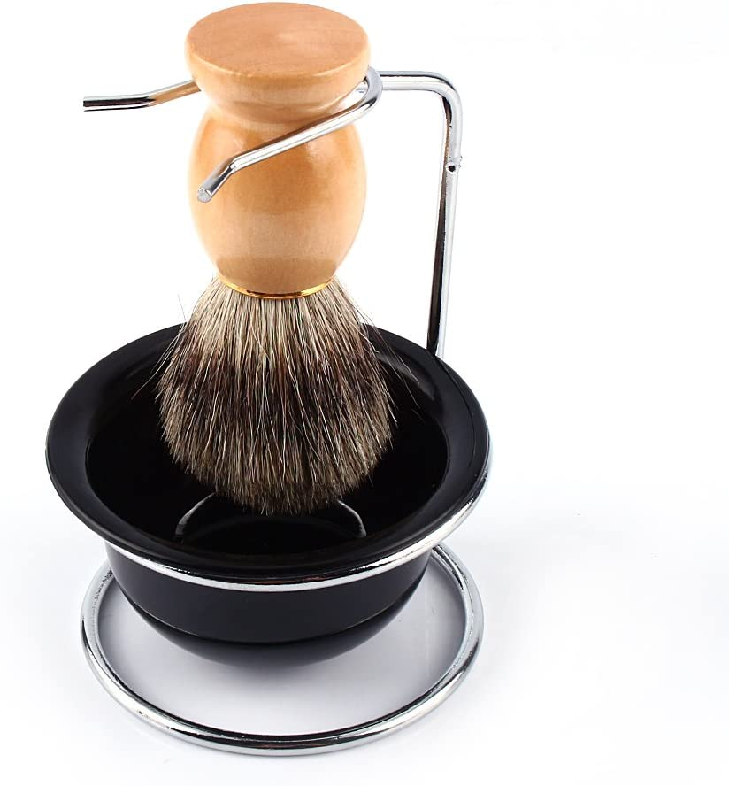 Brocha de afeitar pincel de espuma de afeitado, accesorio para afeitado-diseñadas especialmente para el mejor ...