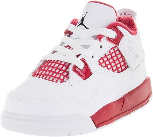 Nike Jordan 4 Retro BT, Chaussures bébé garçon Multicolore