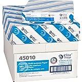 Elite Image 45010 Multipurpose Paper,98 GE/112 ISO,20Ib,8-1/2''x11'',10/CT,WE