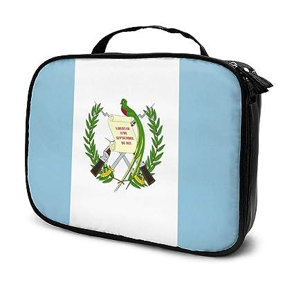 Bandera de Guatemala Emblema de viaje Bolsa de aseo Organizador de ...