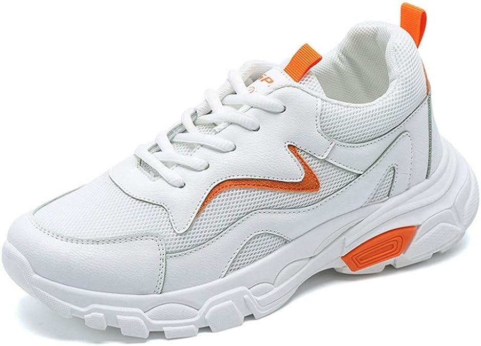 Zapatillas de Deporte de Mujer en Color Mezclado con Cordones Zapatillas de Deporte Ligeras Correr Casual Low Top Sport Shoes: Amazon.es: Zapatos y complementos