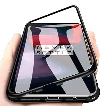 DoubTech Funda para OnePlus 5T Carcasa Adsorcion Magnetica ...
