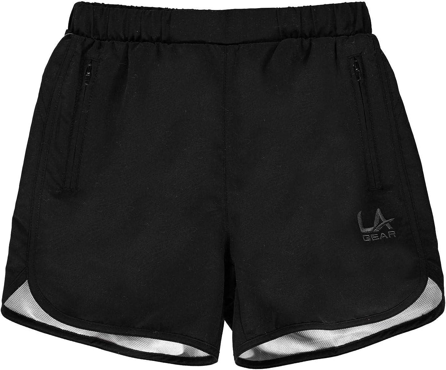 LA Gear Kids Girls Woven Shorts Junior Pants Trousers