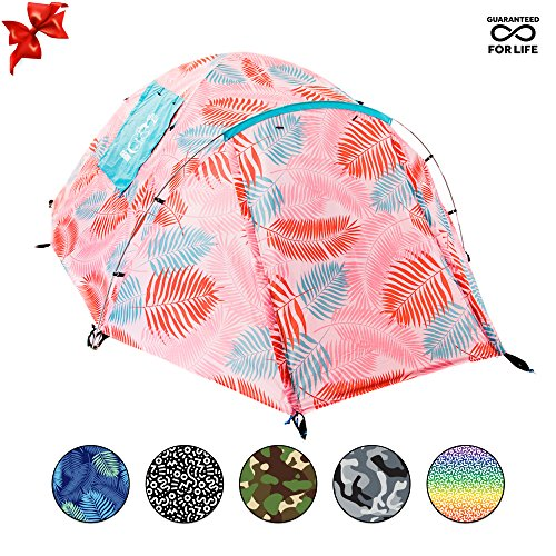 CHILLBO CABBINS Best 2 Person Tent with Cool Patterns ULTIMATE HOLIDAY CAMPING GEAR GIFT for Backpacking Car Camping Music Festivals Family Camping Tents for Camping Sleeps - Ultimate Camping
