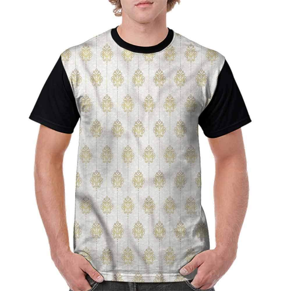 Classic T-Shirt,Ornamental Tracery Dots Fashion Personality Customization
