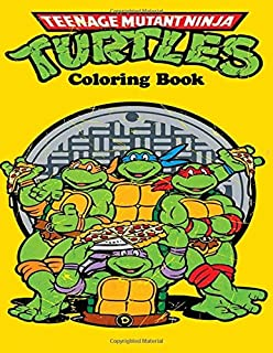 Kickin\' It Old School Coloring Book Teenage Mutant Ninja Turtles ...