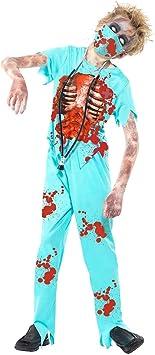 Smiffys Smiffys-44032L Disfraz de cirujano zombi, con pantalones ...