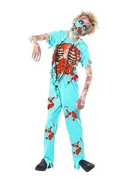 Smiffys-44032L Disfraz de cirujano zombi, con pantalones manchados ...