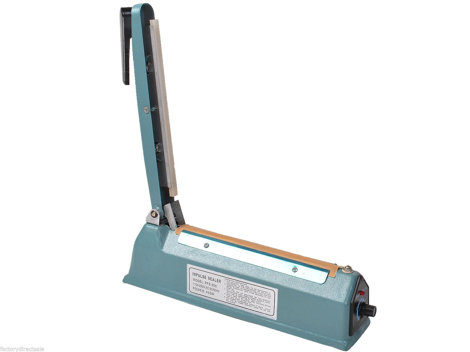 Super buy 12'' Heat Sealing Hand Impulse Sealer Machine Poly Free Element Grip& Teflon by Goplus (Image #6)
