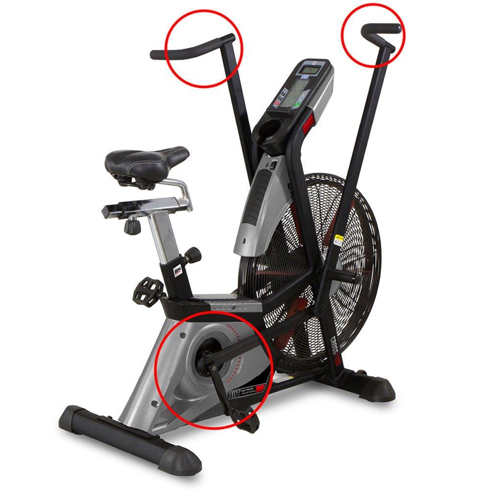 BH Fitness - Bicicleta Estática Cross 1100 (Bicicleta): Amazon.es ...