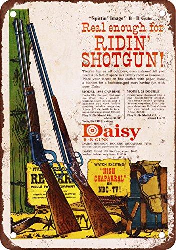 Daisy BB Guns Vintage Look Reproduction Metal Sign
