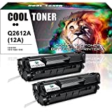 hp 3030 toner cartridge - Cool Toner 2 Packs Q2612A 12A Toner Compatible for HP 12A Q2612A Toner Cartridge Q1261A HP LaserJet 1020 1018 1012 1022 3022 3055 Toner Cartridge
