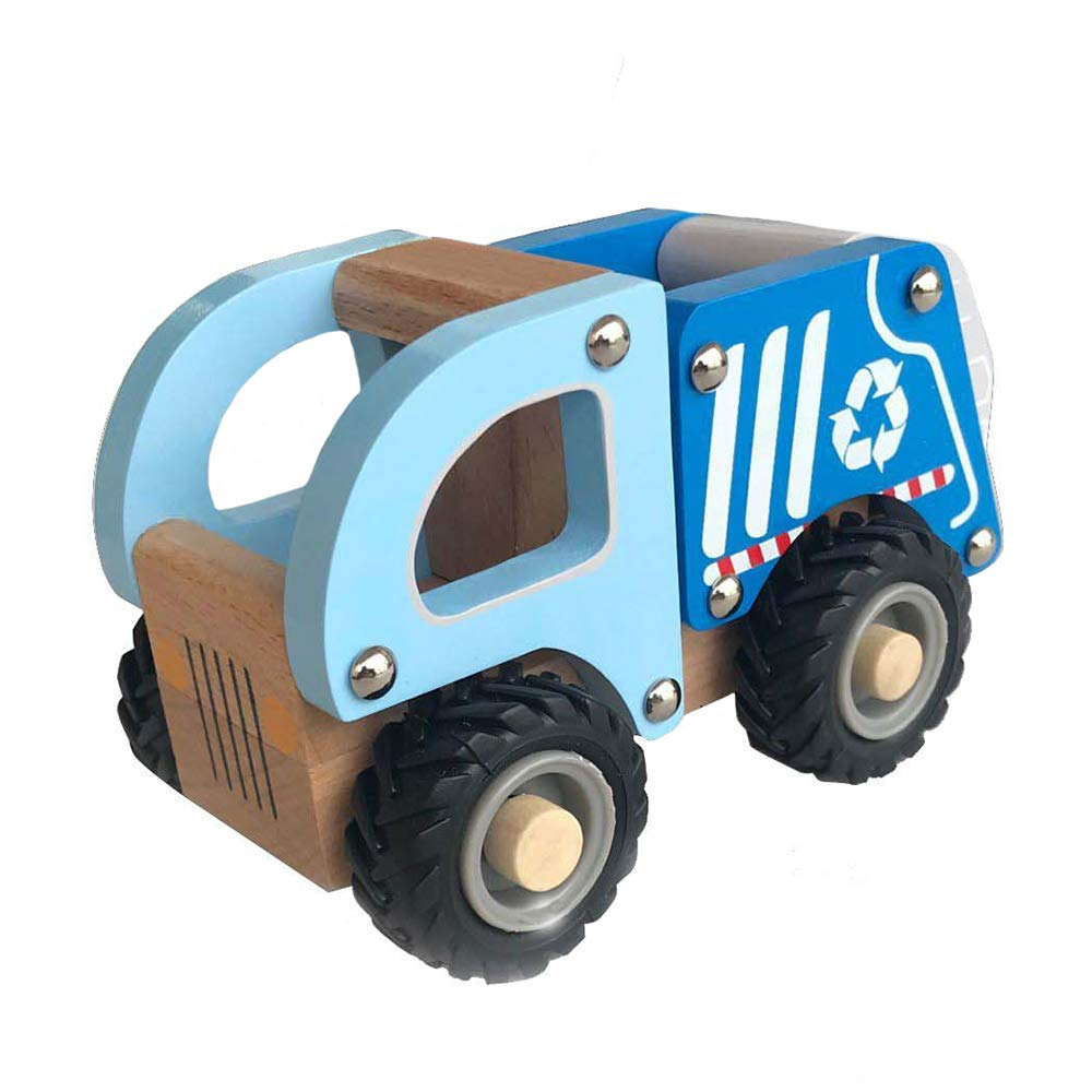 Applesauce Wooden Children's Toy Recycle Truck