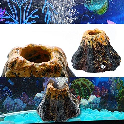 ueetek Vulcano para Acuario con decantador para decoración: Amazon.es: Productos para mascotas