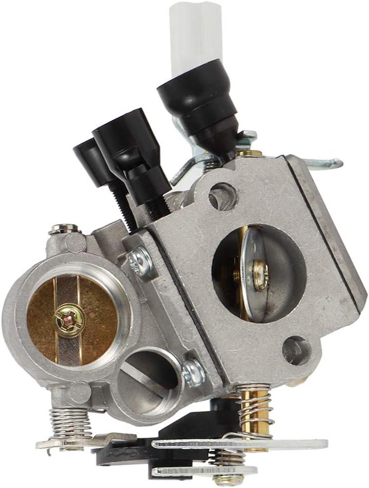 Repuesto de carburador, accesorio de repuesto de carburador de motosierra apto para piezas de motosierra STIHL MS181 MS211