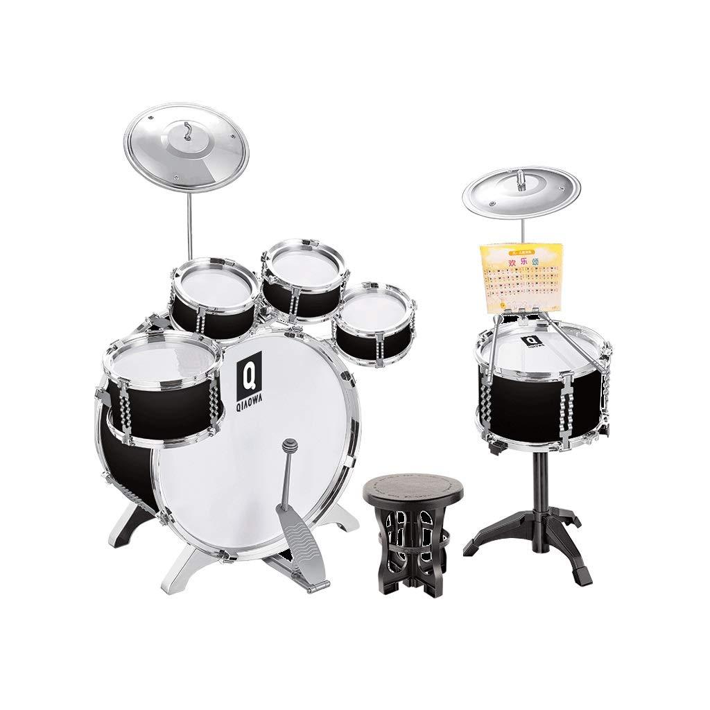 早い者勝ち LIUFS-ドラム 子供用ドラム初心者ビートドラム3-6歳楽器楽器男の子と女の子ドラム (色 (色 : : 黒) 黒 黒 B07P9XS8Z4, Oriental Select Shop マリマリ:2520e2f5 --- a0267596.xsph.ru