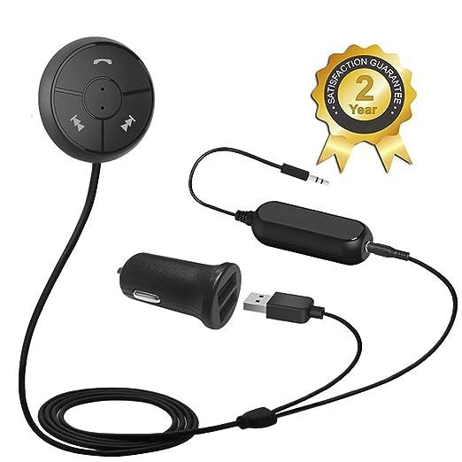 148 opinioni per Besign Kit Vivavoce Bluetooth 4.1 Auto, Ricevitore Audio Stereo con Cavo Audio