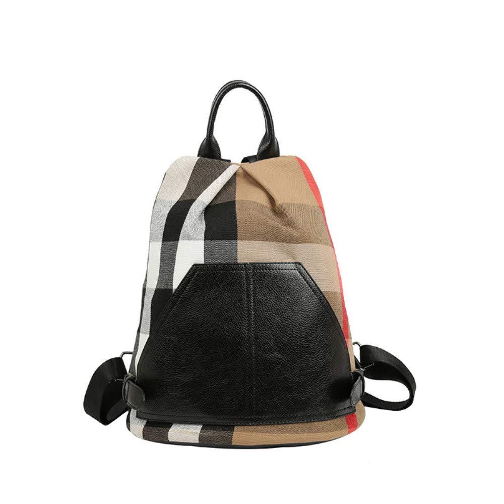 lvvg Anti-Theft Shoulder Bag Female Student Backpack Casual Simple Travel Bag