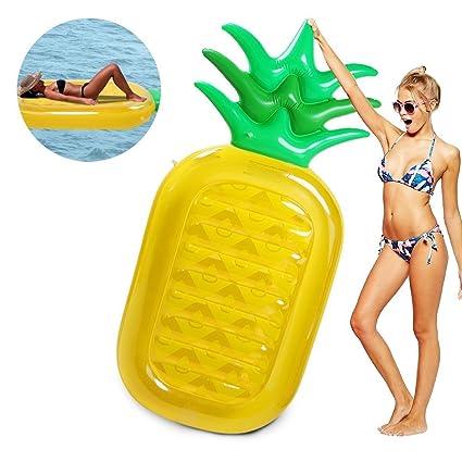 Amazon.com: Piscina Flotador piña: Toys & Games