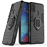 ValueActive Covers and Cases for Samsung Galaxy M31 / M30S Case Back Cover Rugged Armor TPU + PC Hybrid Kickstand Back Case/Cover with Ring Holder Designed for Samsung Galaxy M31 / M30S