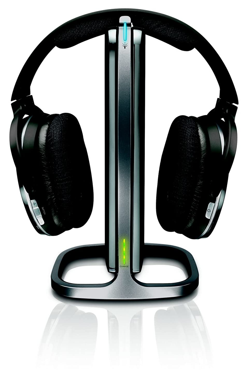 Philips Cineos - Auriculares (Circumaural, Diadema, Inalámbrico, 10-28000 Hz, 80 dB, Negro): Amazon.es: Electrónica