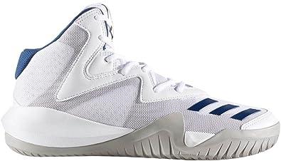 36ad9356b735 adidas Men s Crazy Team 2017 Footwear White MGH Solid Grey Mystery Blue 7 D