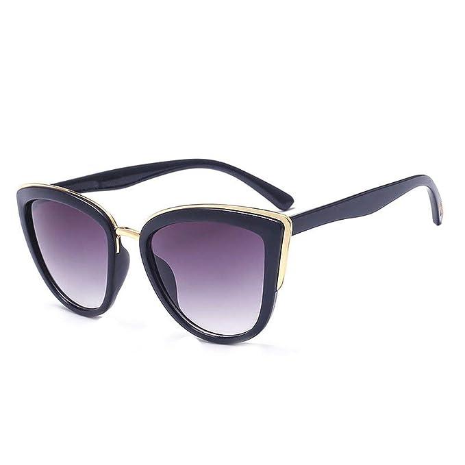 Amazon.com: Gafas de sol Cateye para mujer, gafas de sol ...