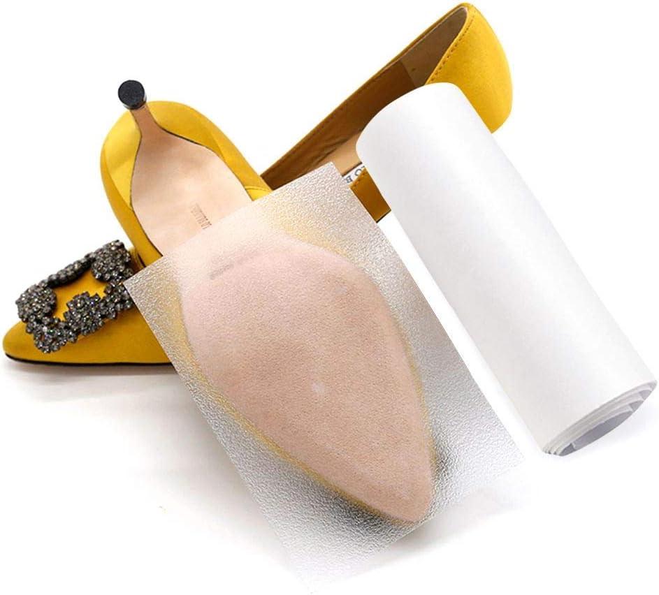 TXGLGWA Suela de la Etiqueta engomada Antideslizante de la Cinta del Zapato Auto-Adhesivo Transparente empuñaduras para Tacones Altos Protector de Suela