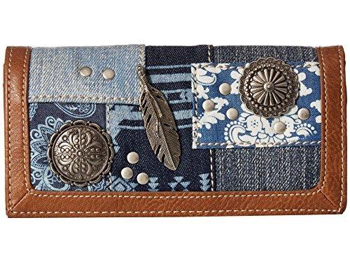 Zip Flap Checkbook Wallet - 9