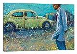 iCanvasART My Thai Volkswagen Canvas Print by Iris Scott, 26'' x 1.5'' x 40''