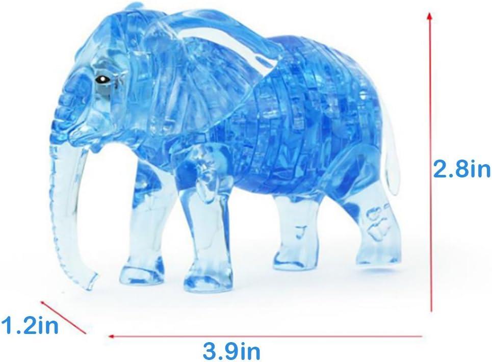 41Piece Elephant LRRH Novelty Creativity 3D Crystal Jigsaw Puzzle