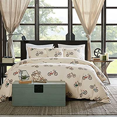 HipStyle Raleigh 4 Piece Duvet Cover Set