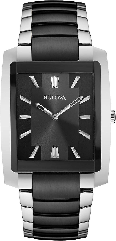 Bulova Men s Two-Tone Rectangle Watch Certified Refurbished