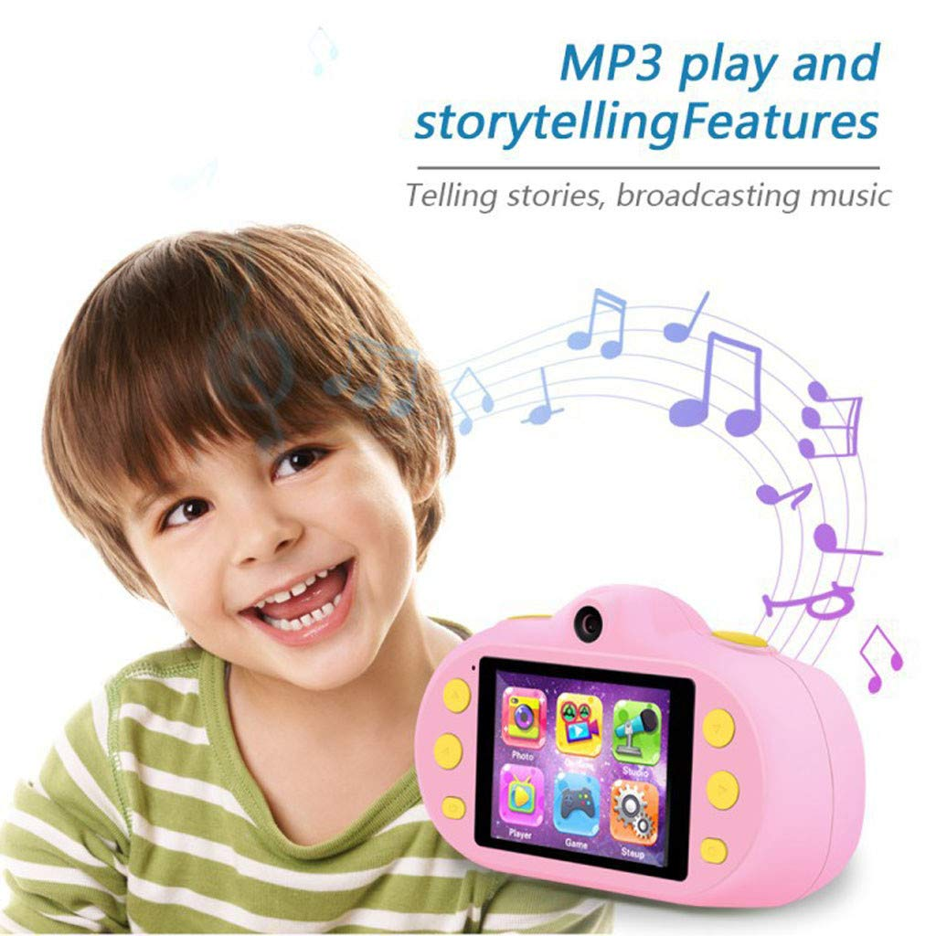 Poniu Kids Camera 8.0mp Rechargeable Children Shockproof Digital Photography Camcorders New Gifts by Poniu (Image #2)