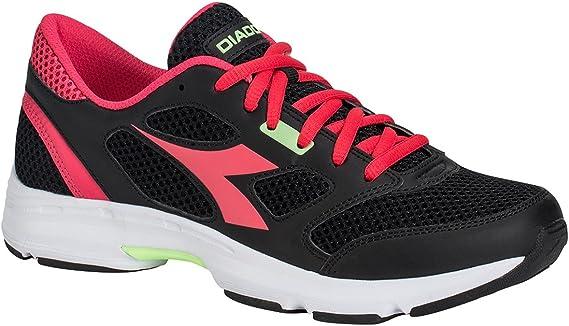 Diadora Zapatillas Running Zapatillas Jogging Mujer Shape 7 Black/Bright Rose Zapatos Hombre, Negro, 38.5: Amazon.es: Deportes y aire libre
