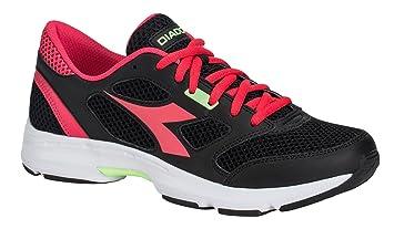 Diadora Zapatillas Running Zapatillas Jogging Mujer Shape 7 Black/Bright Rose zapatos hombre, negro
