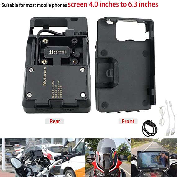 Amazon.com: Motoparty R1200GS - Soporte de navegación GPS ...