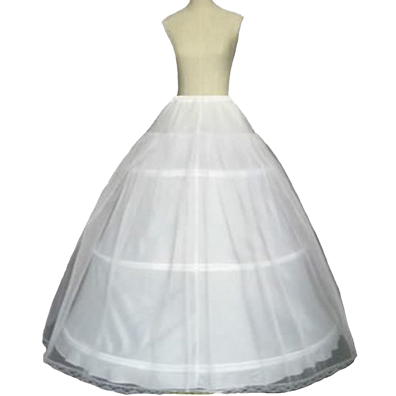 Fair Lady 3 Hoop Ball Gown Full Crinoline Petticoat For Women ...
