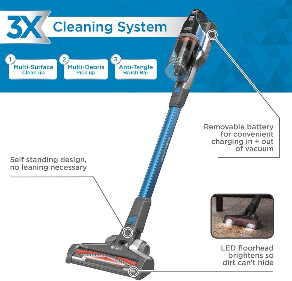 Filter Element For BLACK DECKER BSV2020 Wireless Vacuum Cleaner Household Supply