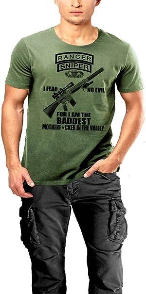 Army Ranger sua Sponte Airborne Tan Reaper T-Shirt By Warface Apparel