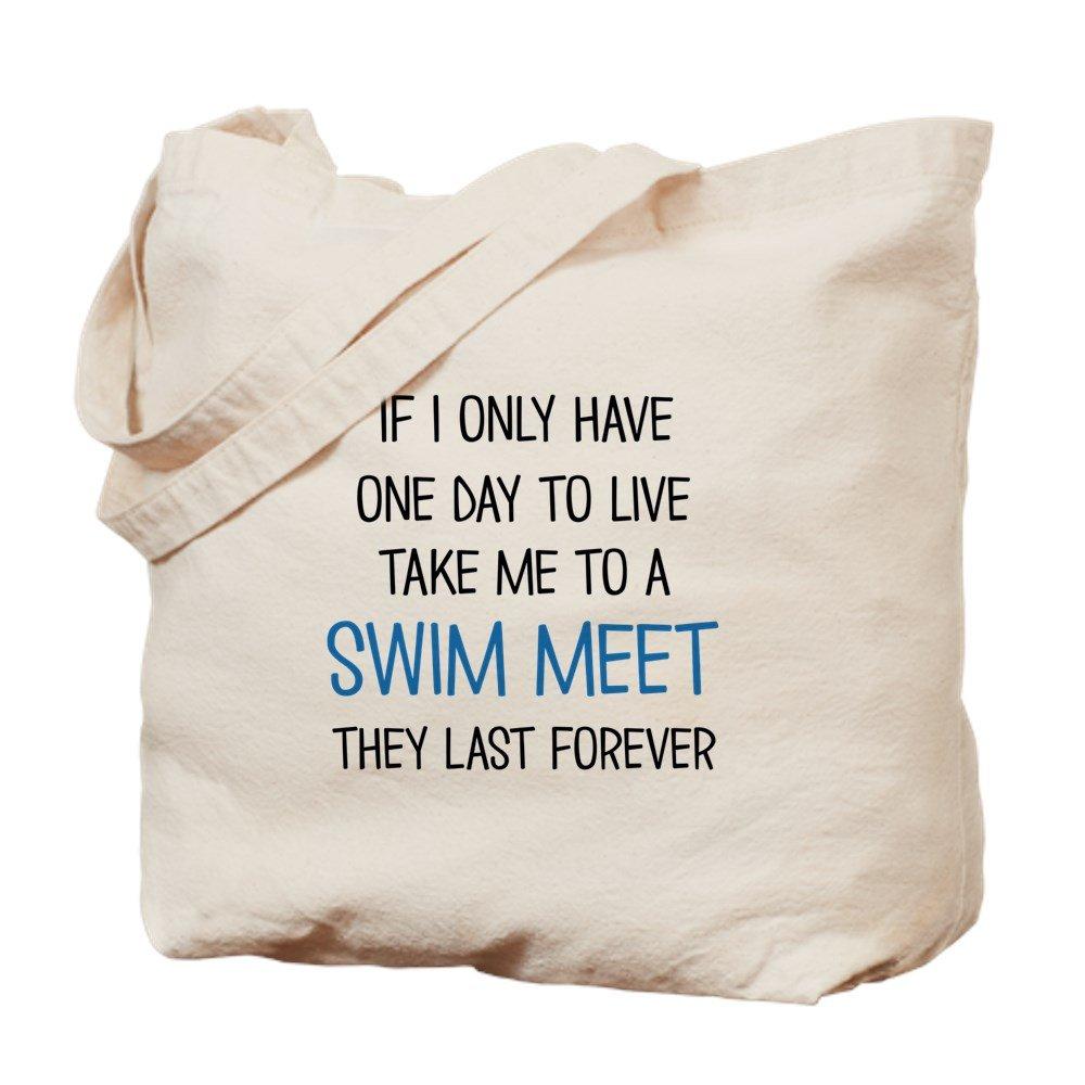 CafePress – Swim Meet – ナチュラルキャンバストートバッグ、布ショッピングバッグ B06VWW8W5P