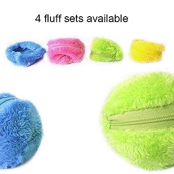 Aspirador la activación de la bola del animal doméstico de la felpa del suelo limpio automática Juguetes para mascotas: Amazon.es: Oficina y papelería