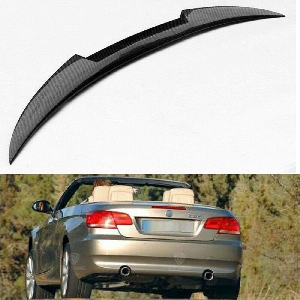 passend f/ür BMW E93 325i 328i 330i 335i Limousine Cabrio STW Karbonfaser-Heckspoiler