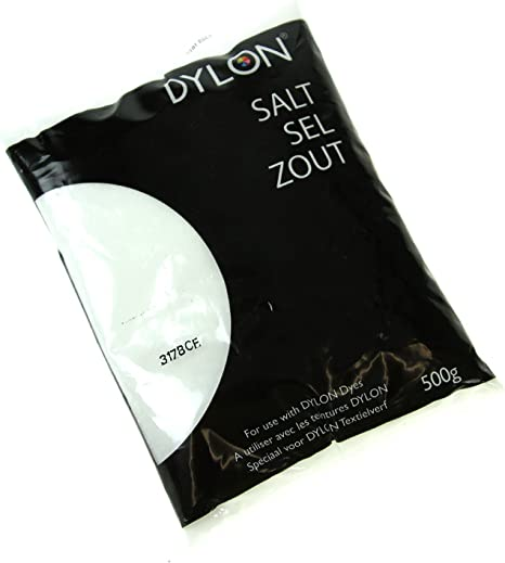 Dylon Sal para Usar con tintes 6002414800, 500 g